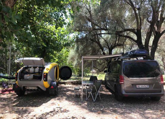 Lefkada Camping Poros Beach Main