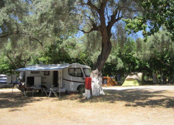 Poros Beach Lefkada camping