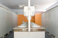 Poros Beach Lefkada camping Showers & Bathrooms 1