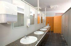 Poros Beach Lefkada camping Showers & Bathrooms 2