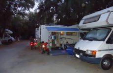 Poros Beach Lefkada camping16