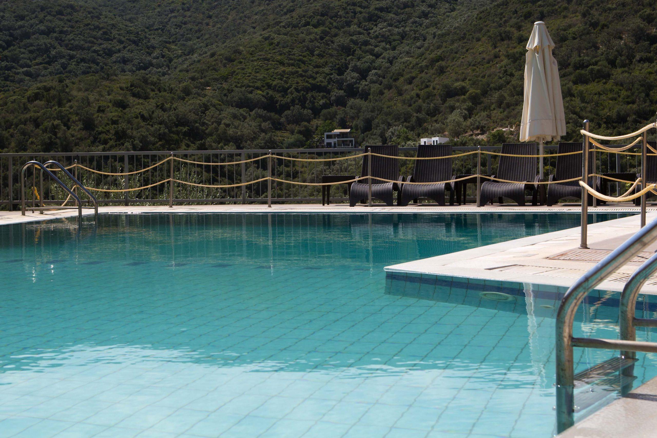 Poros Beach Lefkada Pool